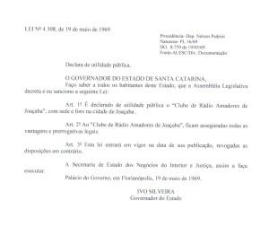 Declarau00E7u00E3o de utilidade pu00FAblica estadual